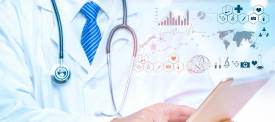 consultation avec un logiciel médical adapté